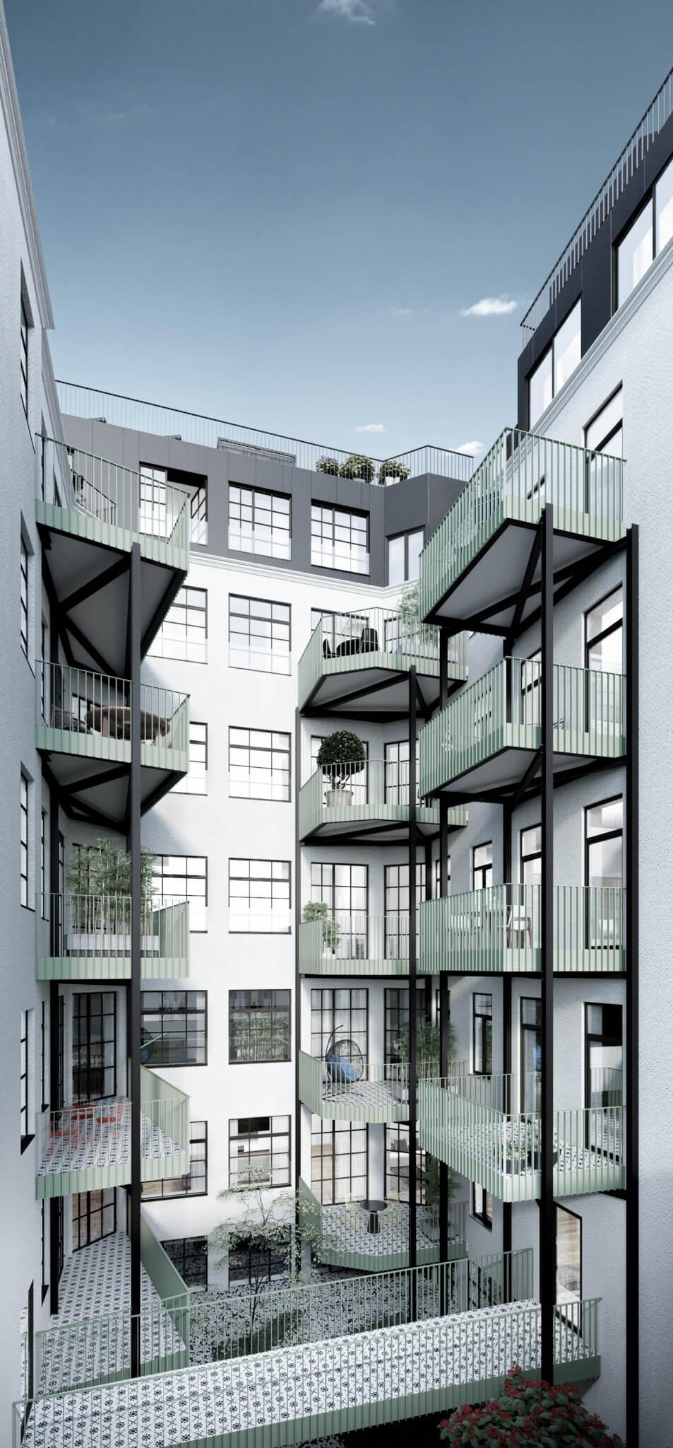 Kandlhof-kandlgasse-23-art-nouveau-innenhof-1070-wien-WK-Development